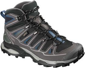 Salomon X Ultra 2 Spikes GTX Mid Shoes Dame BlackMagnetHydro